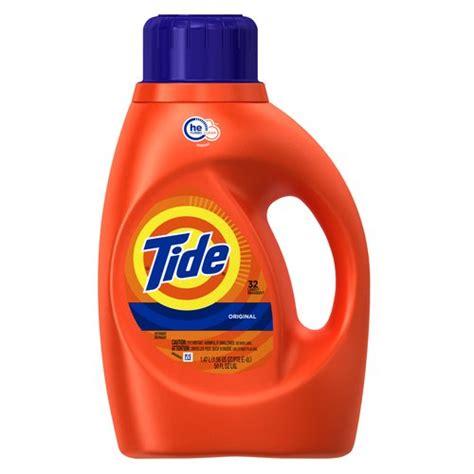 high efficiency laundry detergent tide he turbo clean original scent liquid laundry detergent 32 loads 50 fl oz walmart com