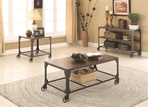 703908 2pc Coffee Table Set By Coaster W/optional Tables
