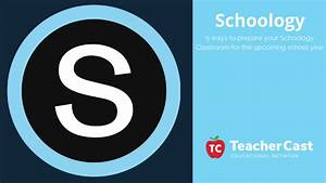 5 Things To Do ... Schoology