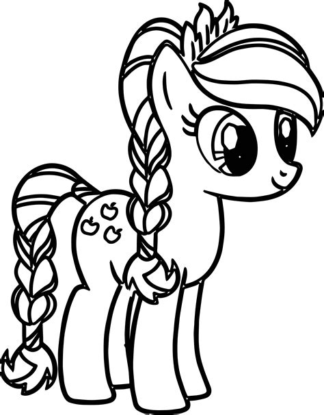 pony coloring pages coloringsuitecom