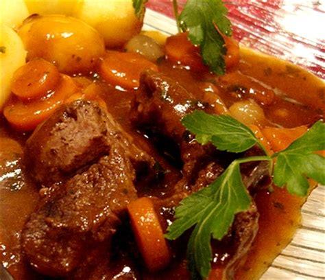 recette de cuisine gastronomique boeuf bourguignon recette recette de