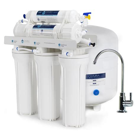 under sink reverse osmosis olympia water systems 5 stage under sink reverse osmosis