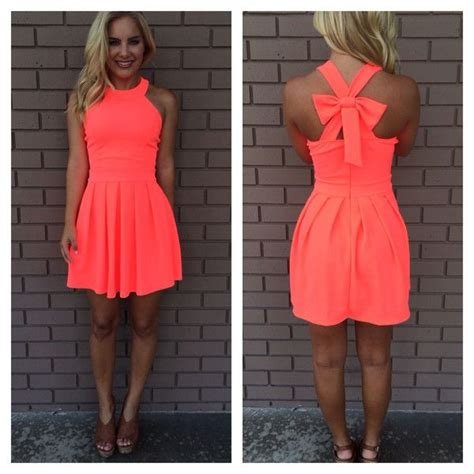 coral color dresses 25 best ideas about bow back dresses on back
