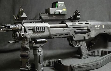 Wallpaper Shotgun, Wepon, Dp-12, Dp-12 Shotgun, Shot Show