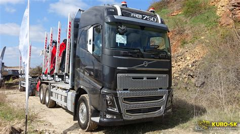 volvo fh   euro  timber truck walkaround youtube