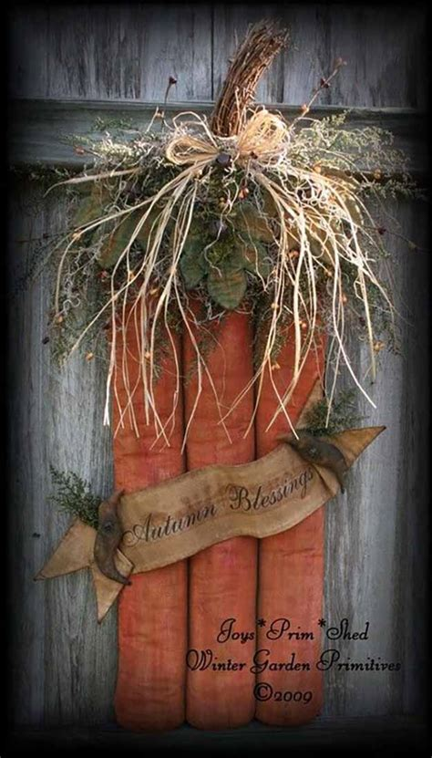 Primitive Decorating Ideas For Fall by 21 Diy Fall Door Decorations Diy Ready