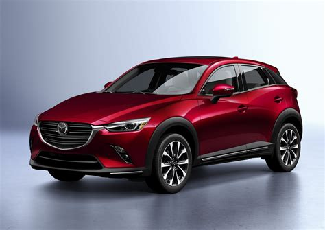 2019 Mazda Cx-3 Shows Its Updated Style And Tech In New