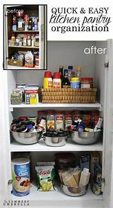 and easy kitchen pantry organization the summery