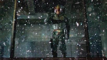 Dredd Glass Shattered Scene Cinemagraph Film Animated