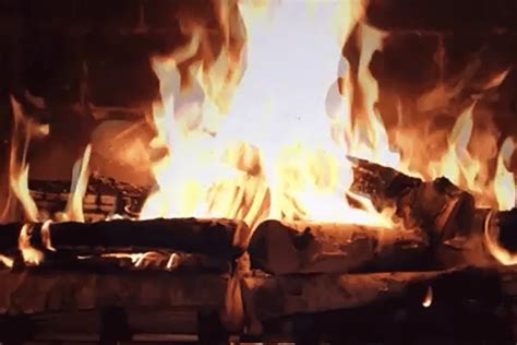 netflix fireplace video     mel magazine