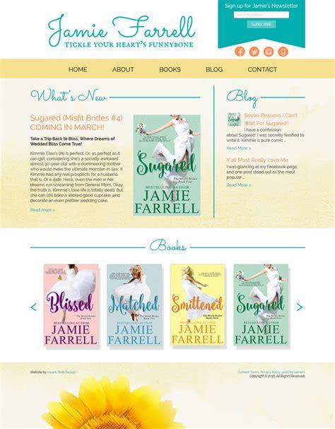 web design  author jamie farrell swank web design