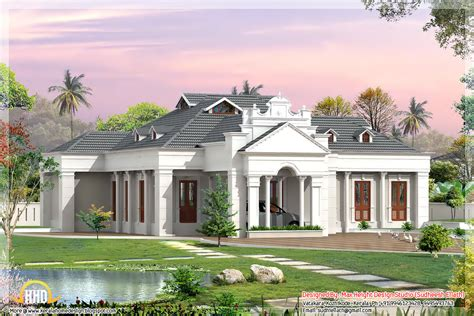different house plans 2 different 3d home elevations kerala home design and