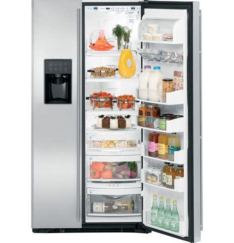 ge monogram  standing side  side refrigerator zfsbdtss ge appliances