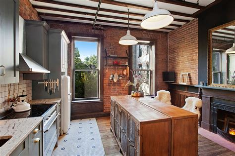 the brick kitchen island 50 trendy and timeless kitchens with beautiful brick walls 6047
