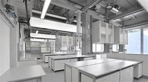 Service modules laboratory furniture SCALA