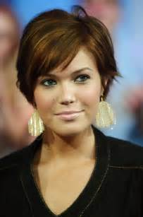HD wallpapers short hairstyle thick hair round face