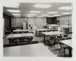 Home economics lab at Cook Junior High School, Santa Rosa ...