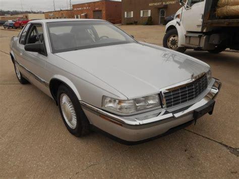 1992 Cadillac Eldorado For Sale by 1992 Cadillac Eldorado 48 000 Actual Clean