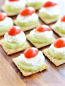 Cucumber Dill Appetizer Cream Cheese