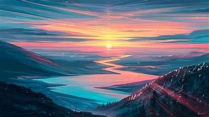 Sunrise Landscape Wallpapers 4k Background Resolution Published