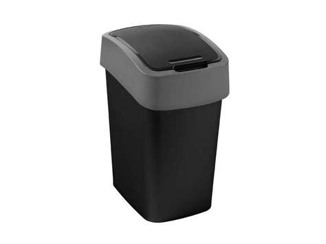 conforama poubelle cuisine poubelle cuisine 25 l flip bin coloris noir vente de