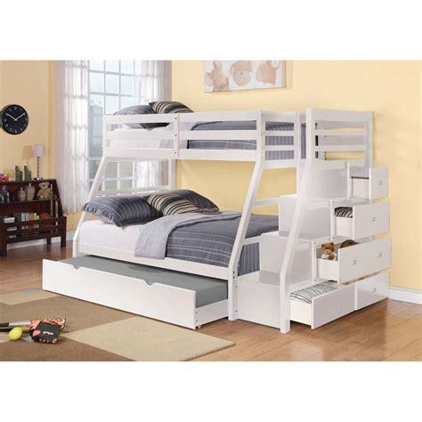 lit superposé avec lits superposés avec escalier chambres enfants