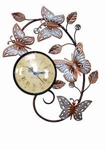 Römische Zahlen Uhr : wanduhr uhr romantisch blumen silber beige r mische zahlen metall bronce neu kaufen bei go perfect ~ Orissabook.com Haus und Dekorationen