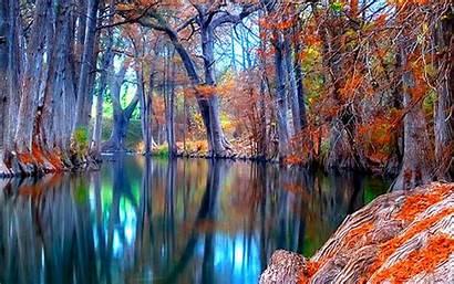 Nature Backgrounds Stream Autumn Wallpapers Desktop Fall