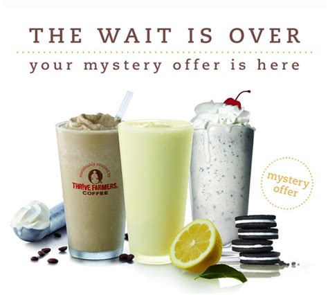 chick fil mystery offer april revealed milkshake frosted coffee