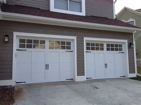 Carriage House Garage Doors  Craftsman  Garage Detroit
