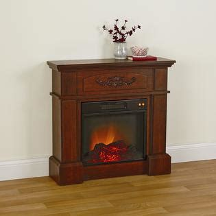 essential home cherry carlson electric fireplace