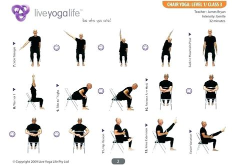Chair Workouts For Seniors