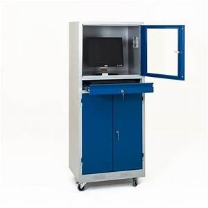 Armoire Qui Ferme A Clé : armoire informatique bdmobilier ~ Edinachiropracticcenter.com Idées de Décoration