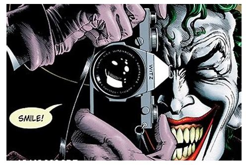 batman killing joke pdf free download