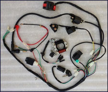 Full Electrics Wiring Harness Cdi Coil Atv Quad Bike