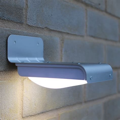us wireless solar powered motion sensor light 16 bright