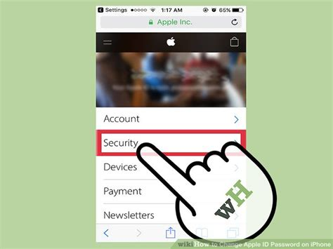 reset apple id on iphone how to change apple id password on iphone with pictures 17968