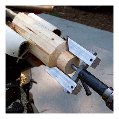 adjustable tenon cutter  making log furniture