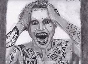 Joker Jared Leto (Pencil Drawing) by rodolvip on DeviantArt