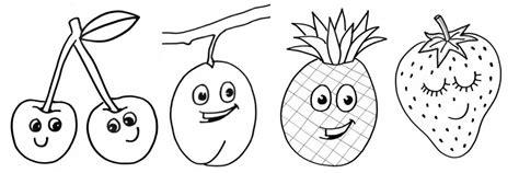 Kleurplaat Fruit Manderijn by Kleurplaten