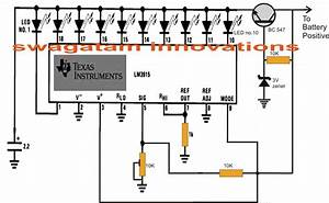 Make This 10 Step Battery Voltage Monitor Circuit