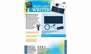 Science Kits Neon Light Writer
