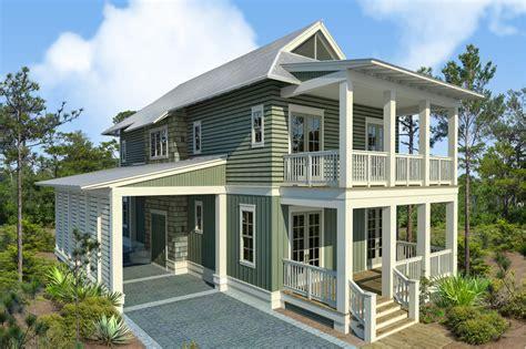 beach style house plan  beds  baths  sqft plan