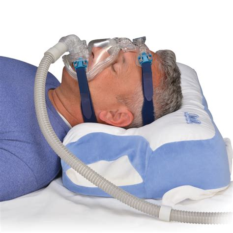 cpap pillows for side sleepers contour cpap 2 0 sleep pillow by contour living shop
