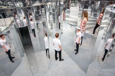 es devlin   mirror maze installation  chanel