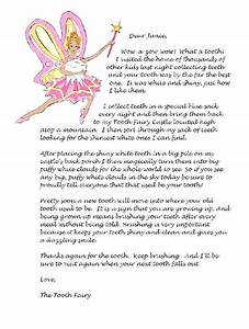 tooth fairy letter With free printable tooth fairy letter template