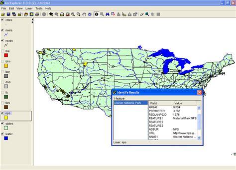 Federal & Indian Public Lands Arcgis Shapefile Maps