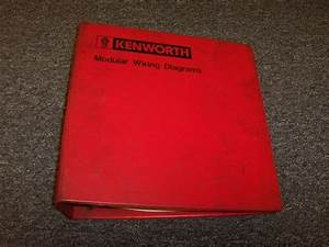 1979 1980 1981 Kenworth K100 K100c L700 Trucks Electrical Wiring Diagram Manual