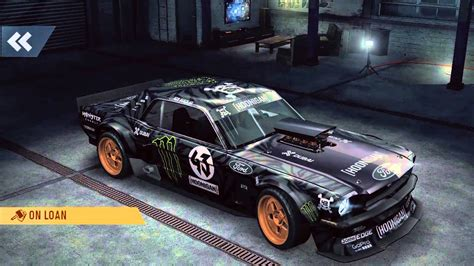 hoonigan mustang twin turbo nfs no limits ford mustang hoonigan gameplay part 2 youtube