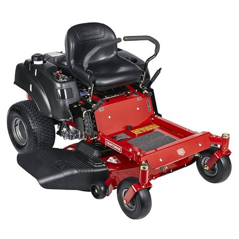 craftsman zero turn mower hp riding deck mowers residential models twin reinforced lawn briggs stratton sears economy tractor tractors todaysmower